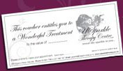USparkle Therapy Centre & Day Spa gift vouchers